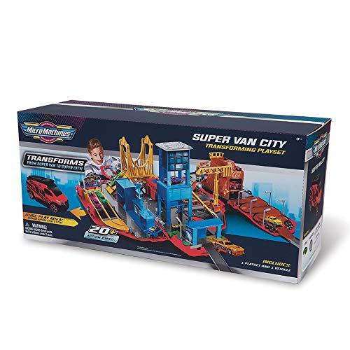 Grandi Giochi, Micro Machines Supervan con Veicolo Esclusivo, MCM03000