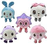 NC87 Juguetes de Peluche 5 unids/Set muñeco de Peluche muñeca Animal Dila 20cm para Regalo de niños