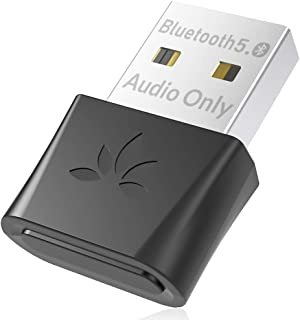 Avantree DG80 Bluetooth 5.0 USB Audio Adapter for PC Computer Laptop Mac PS4, Wireless Dongle for Headphones Speaker, Idea...