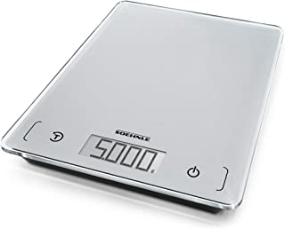 Soehnle Page Comfort 100 Kitchen Scale, Digital Food Scale with Sensor Touch, acccurate Gram Scale for Measuring up to 5 k...