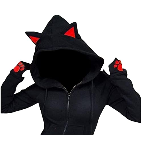 6c205aa1c Cat Ear Jacket  Amazon.com