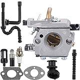 Venseri WT-194 Carburetor with Gasket Fuel Line Filter Spark Plug for 024 026 MS240 WT-403A WT-403B Chainsaw 1121 120 0610