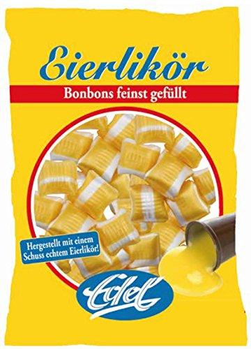 Eierlikör gefüllt 125 g Beutel Edel-Bonbon