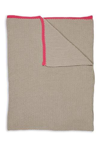 PIP Studio Plaid Pip Bonsoir Throw Farbe Khaki Größe 130x170cm Tagesdecke Überwurf
