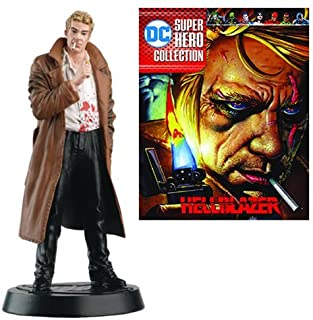 DC Superhero John Constantine Best Of Figure with Collector Magazine #35