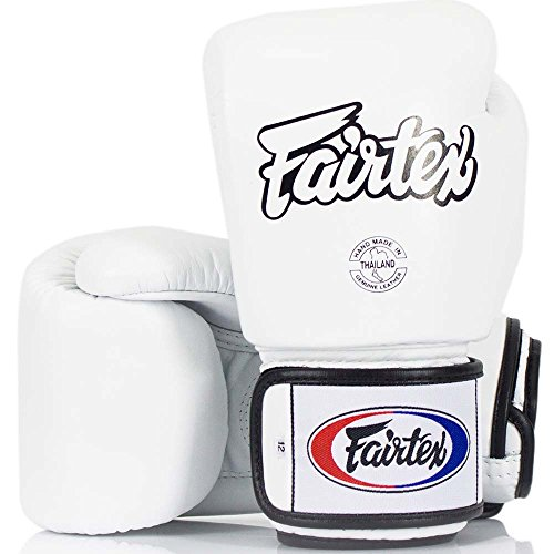 Fairtex BGV-1 - Guantes de boxeo, color blanco