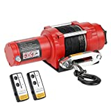Ayleid 12V 4500LBS Load Capacity Electric ATV/UTV Winck Kit with Synthetic Rope (Nylon-4500H)