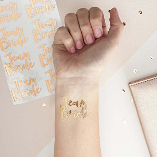 Team Bride Tattoos - Rose Gold
