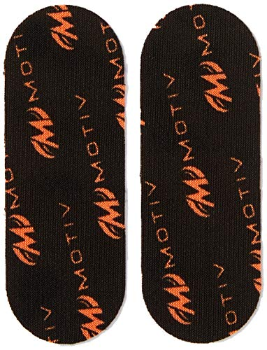 Motiv Unisex-Erwachsene Flex Protective Performance Tape Black-Pre Cut 40 Pieces Bowling, schwarz