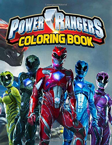 Power Rangers Coloring Book: The ultimate Power Rangers...