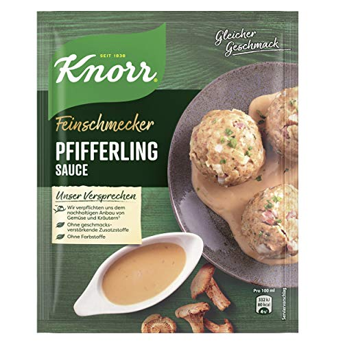 Knorr Feinschmecker Pfifferling Soße, 1er-Pack (1 x 250 ml)