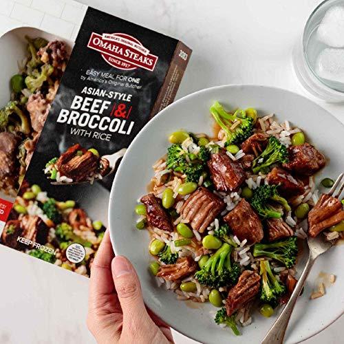 Omaha Steaks Single Serve Meal: Asian-Style Beef & Broccoli