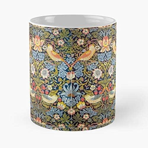 William 1883 Morris Bloemen Ontwerp Nouveau Patroon Dief Aardbei Eten Eten Bite John Beste 11oz Keramische Koffie Mok