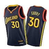 Curry Basketball Jersey Warriors 30#, Oakland City Edition Chaleco Atlético, Camisetas de Entrenamiento de Bordados M