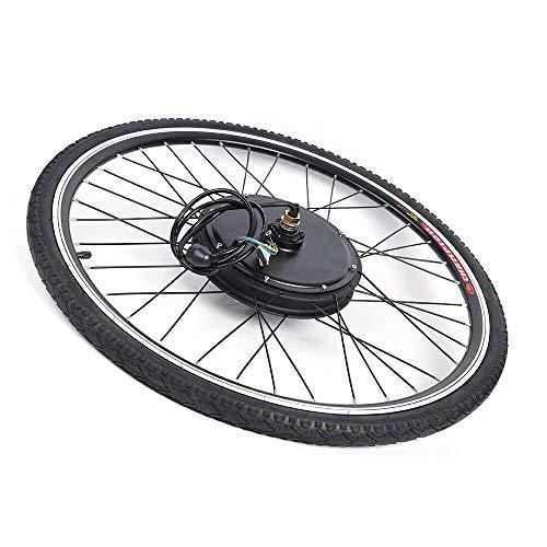 DIFU - Kit di conversione per bicicletta elettrica, 28 pollici, 48 V, 1000 W, con display LCD, per bici elettriche, motore a mozzo anteriore