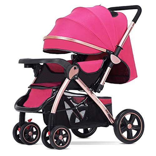 Learn More About JIAX Lightweight Baby Stroller, Convertible Reclining Stroller, Foldable and Portab...