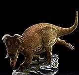 Mu See Studio 1/10 Diabloceratops Scene Statue Ceratopsidae Dinosaur Resin Collector Toys Animal Art Model Decoration Gift for Adult