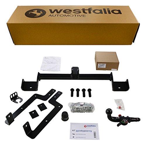 Westfalia abnehmbare Anhängerkupplung für NV 200 / Evalia (ab BJ 10/2009) im Set mit 13-poligem fahrzeugspezifischen Westfalia Elektrosatz
