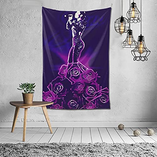 Tapestry S_E_Lena Q_U_Inta_Nilla for 6040 Inchtheme Party Supplies Backdrop Wall Decoration - Wall Hanging Beach Blanket Tablecloth Handicrafts - Tabletop Home Bedroom Living Room Dorm Decorations