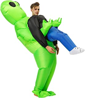 Inflatable Alien/Unicorn/Flamingo/Pink-Pig/Shark Costume/Halloween Costume/Inflatable Party Costumes