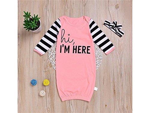 Bébé Cadeau doux nouveau-né Sac de couchage Fille Sleepsacks manches longues chaud Pyjama pour 0–12 mois