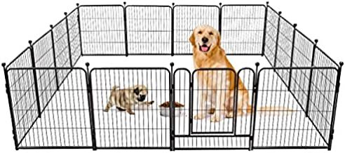 TOOCA Dog Pen 16 Panels 32