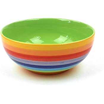 Anguria Hemoton Ciotola in Ceramica Ciotole Colorate in Ceramica Creativa Ciotole in Porcellana di Cereali per Dessert Piattino Riso