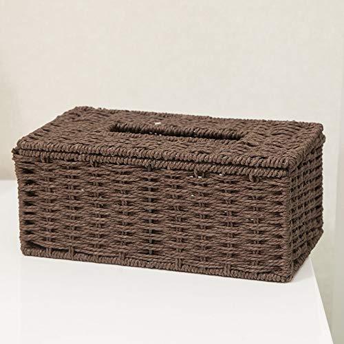 Geen logo Lade Creatieve woonkamer salontafel Tissue Box multifunctionele afstandsbediening opbergdoos voor huishoudelijke pompbak Europese servet doos pompen