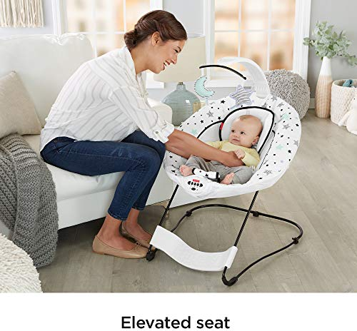 Fisher-Price Deluxe Bouncer: See & Soothe, Starry Night