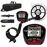 DR.ÖTEK Metal Detector for Adults Professional, Pinpoint Metal Detector Waterproof Gold and Silver, Higher Accuracy, Bigger LCD Display, Strong Memory Mode, 10' IP68 Coil, Upgrade DSP Chip