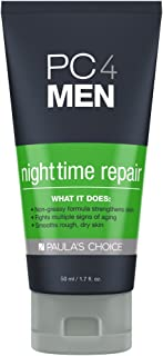 Paula's Choice PC4MEN Nighttime Repair Men's Moisturizer with Retinol, Shea Butter & Antioxidants, Fragrance Free Lotion, 1.7 Ounce