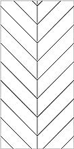 Special/Simple Wallpaper Geometric Vertical Stripes Bedroom Living Room Wallpaper 53 * 1000cm HB007-101 (Color : Hb007101,...