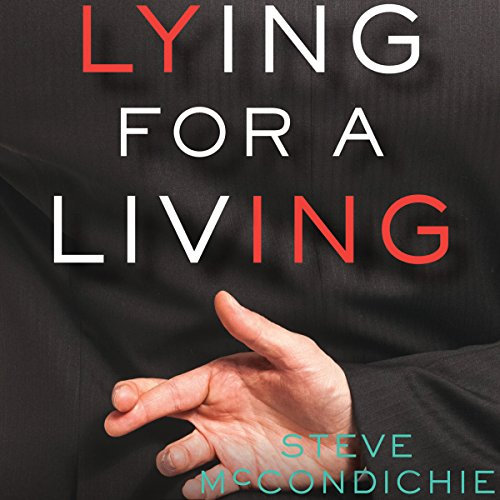 Lying for a Living audiobook cover art