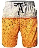 Goodstoworld Pantalones Cortos De Natación para Hombre Pantalones Cortos para Correr con Estampado 3D Troncos De Surf De Playa De Verano De Secado Rápido