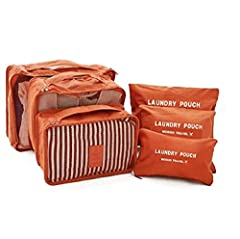 Packing Cubes Revolutionize Travel - Pack efficiently in the most convenient way for family getaways, business travels, camping, hiking, backpacking, RV and cruise holidays. Use them even at home to maximize closet storage space and for compression. ...