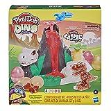 Play-Doh Slime Dino L'isola dei Dinosauri Playset con HydroGlitz, Gioco dei Dinosauri per Bambini da...