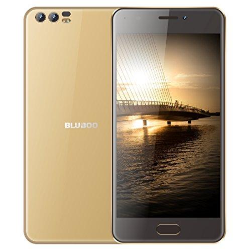Smartphone desbloqueado BLUBOO D2, 1GB+8GB, cámaras traseras duales, 5.2 pulgadas Android 6.0 MTK6580A Quad Core hasta 1.3GHz, red: 3G, WiFi, GPS, Bluetooth, SIM dual