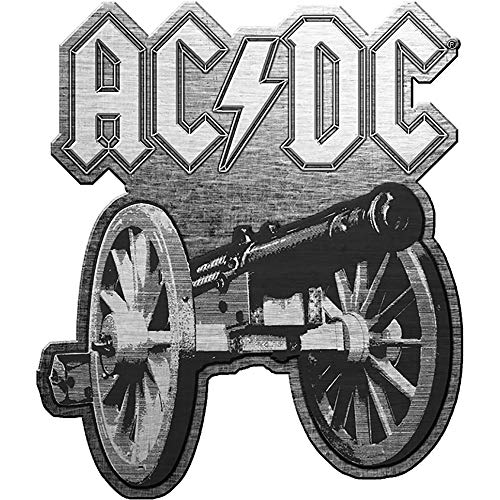 AC/DC METALL PIN # 31 FOR THOSE ABOUT TO ROCK ANSTECKER BADGE BUTTON - 3x3cm