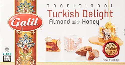Galil Turkish Delight Almond w Honey 16 Ounce Boxes product image