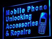 ADVPRO j114-b Mobile Phone Accessories Repairs LED看板 ネオンプレート サイン 標識