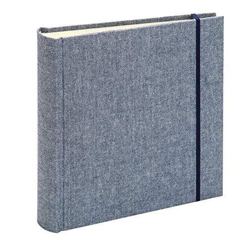 WYBD.Y Bücherregal Alben Album 200 Blatt 6 Zoll Taschenstoff Album/Familie Dünn, Geschäftsgeschenke (Farbe: Blau) Muttertag