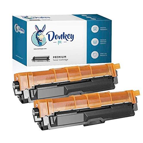 Donkey pc 2 TN-241BK Toner Compatibili per Brother DCP 9020CDW HL 3140CW HL-3150CDW MFC-9140-CDN MFC-9340CDW HL-3150CDN HL-3170CDW DCP-9015CDW MFC-9130CDN 9130CW 9330CDW TN241BK 5.000p