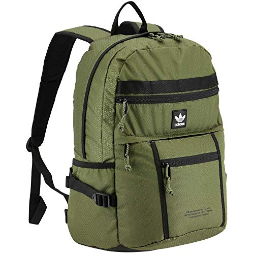 adidas Originals Unisex's Utility Pro Backpack, Focus Olive Green, One Size