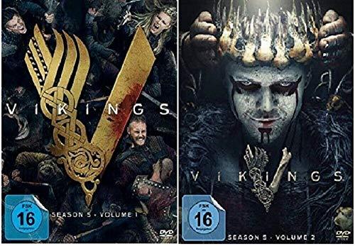 Vikings Staffel 5.1+5.2 / Die komplette Staffel 5 [DVD Set]