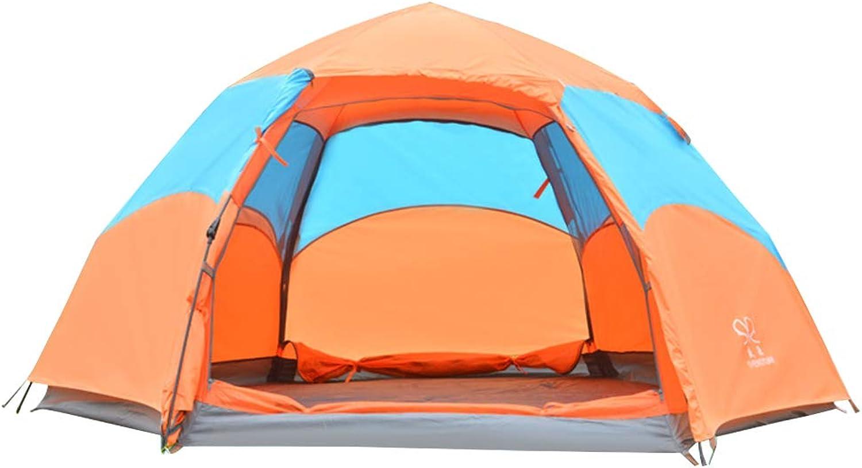 LINDANIG Zelt der 3 oder 4 Personen für kampierendes wasserdichtes Zelt im Freien
