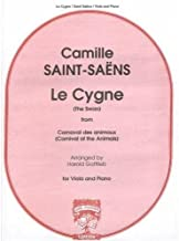 Saint Saens, Camille - The Swan, from Carnival of the Animals For Viola Published by Carl Fischer