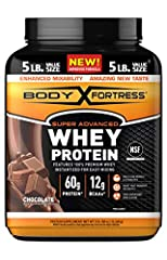 You will receive (1) jar of Body Fortress Super Advanced Whey Protein Powder, Chocolate, 5 pounds CUSTOMIZE YOUR SUPPLEMENTS: Body Fortress provides a variety of pre-, intra, and post workout supplements to maximize the effectiveness of your workouts...