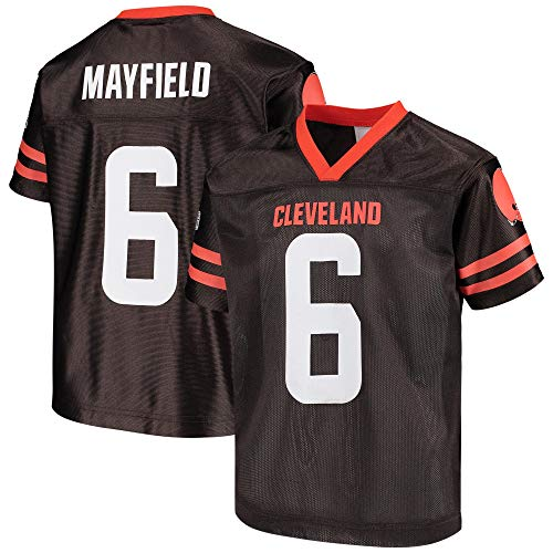 Baker Mayfield Cleveland Browns Brown #6 Youth 8-20 Home Player Jersey (14-16)