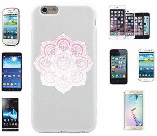 Cover per Apple iPhone 5C 'Mandala leggero Touch motivo 18' | Il must have' per la primavera I motivi allegri mandala incantano il tuo smartphone e attirano gli sguardi su di sé.