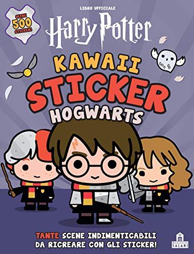 Hogwarts. Kawaii sticker. Harry Potter....